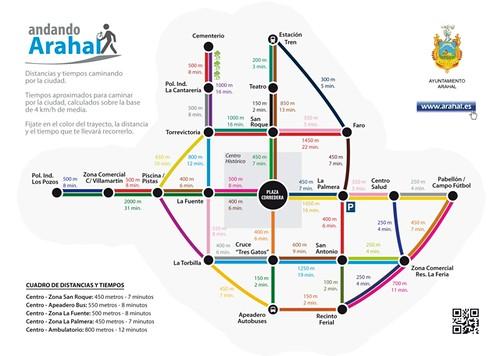 AionSur 15320180511_94eea05f27_d Andando Arahal en 12 minutos desde el centro Medio Ambiente Plano de Movilidad 2014