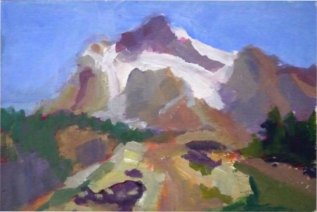 Mt Shuksan Postcard