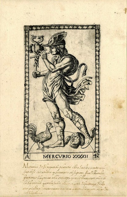 007-Mercurio-Tarot Mantegna-© The Trustees of the British