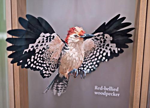 Paper sculpture birds by Diana Beltran Herrera