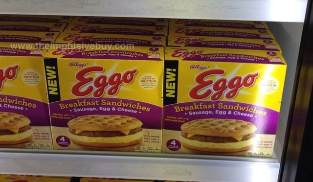 Kellogg's Eggo Sausage, Egg & Cheese Breakfast Sandwiches