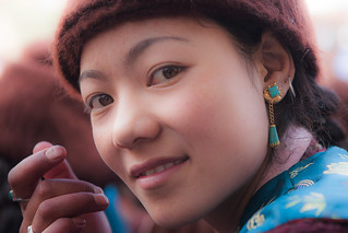 India - A Girl from Karsha, Zanskar valley