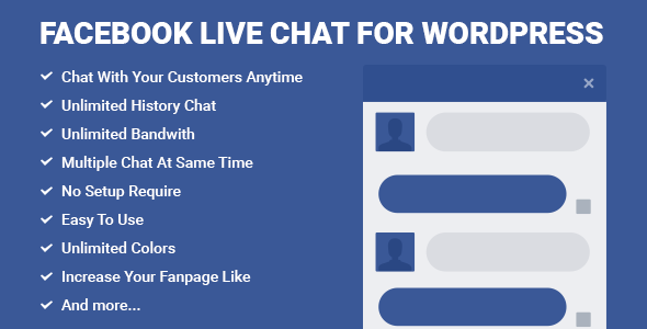 Facebook Live Chat for WordPress v2.7