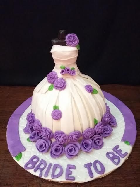 Wedding Gown Cake by Nishat Khan