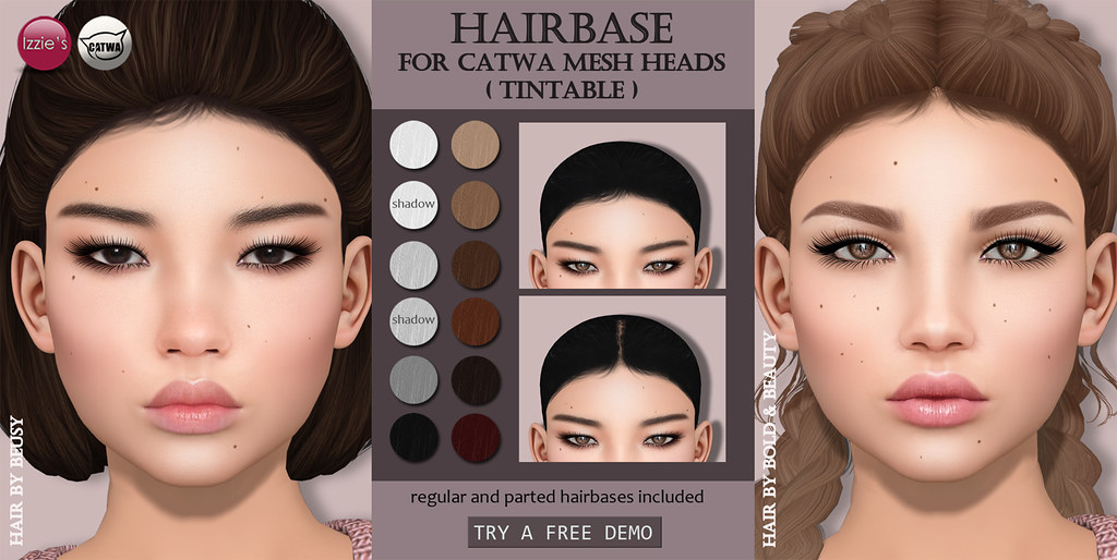 Catwa Hairbase (Skin Fair) - SecondLifeHub.com
