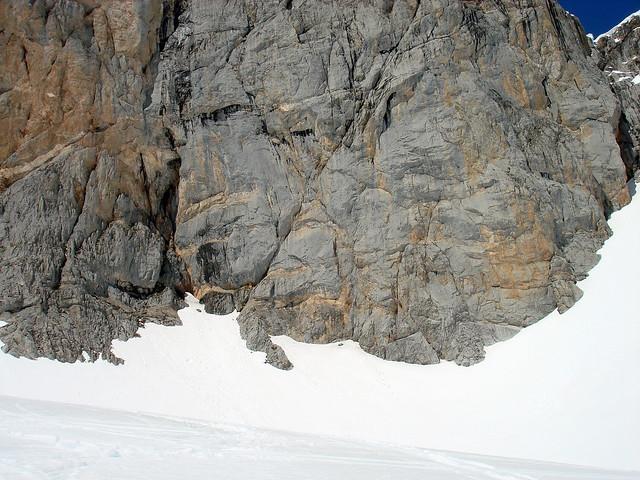 Roca y nieve