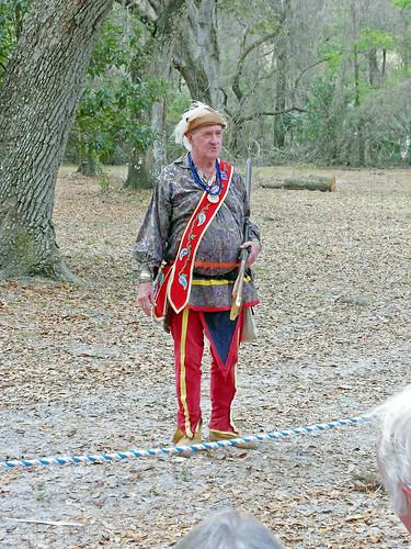 livinghistory reenactor seminole costume musket statepark inverness florida