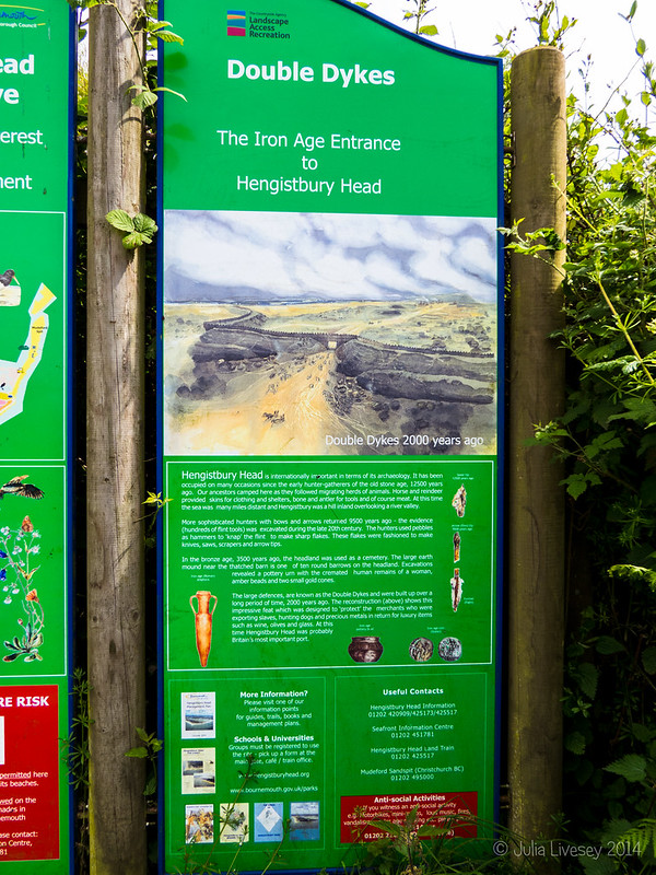 Sign near the Visitor Centre