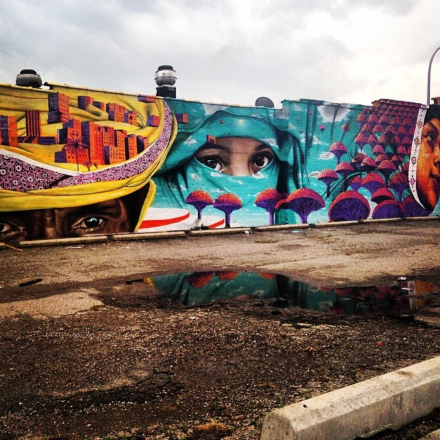 #love this #streetart in #hamtramack #detroit #graffiti