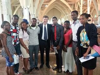 Benin students 20140605