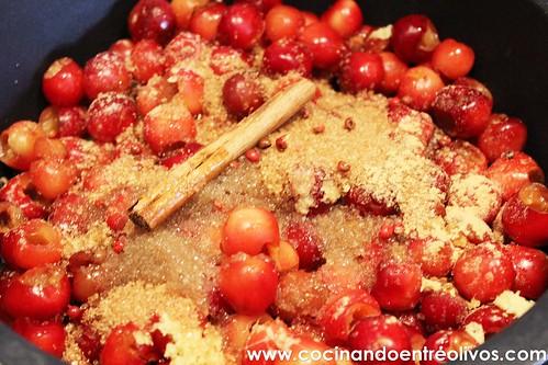 Chutney de cerezas www.cocinandoentreolivos (15)