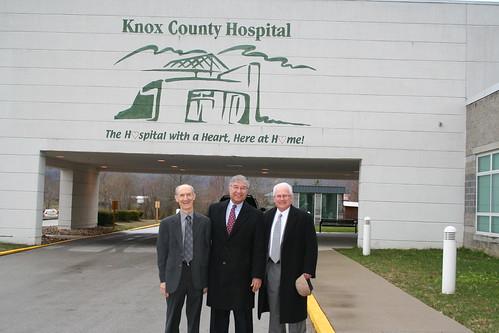 L to R: Vernon Brown, USDA Community Program Director in Kentucky; RHS Administrator Hernandez; and Thomas Fern, USDA Rural Development State Director for Kentucky.