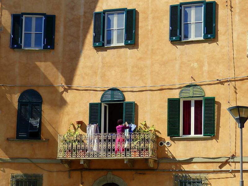 Balcony in Pisa