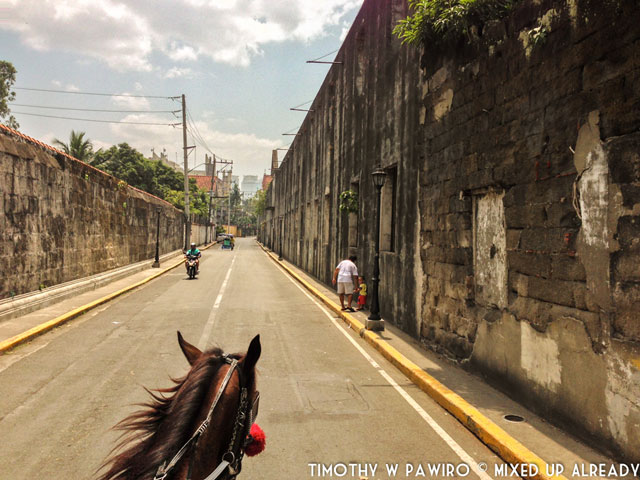 Asia - Philippines - Manila - Intramuros - Horse riding (1)