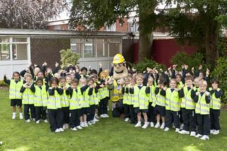 Ivor Goodsite visits Bromsgrove School's pre-preparatory pupils