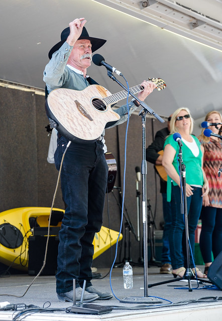 Performers on Stage at the Prescott Bluegrass Festival 2014