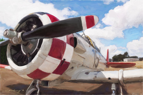 RNZAF North American Harvard at Hood Aerodrome, Ma...