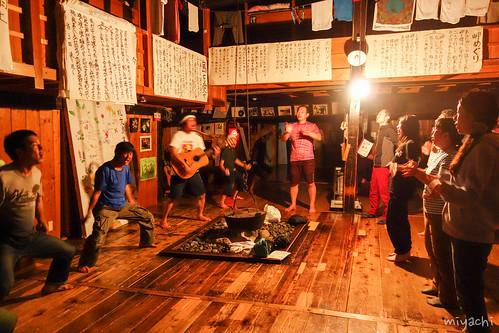 【77日目】礼文島のキチガイYHの桃岩荘へ(北海道)
