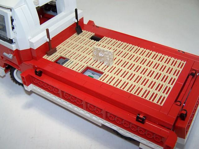 moc vw transporter t1 pritsche lego technic. Black Bedroom Furniture Sets. Home Design Ideas
