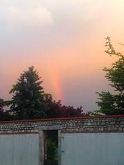 Arc-en-ciel à Artenay
