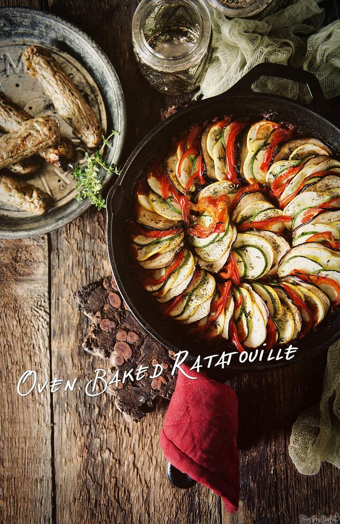 Oven Baked Ratatouille