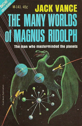Jack Vance - The Many Worlds of Magnus Ridolph (Ace M141, 1966)