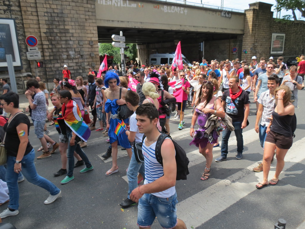Gay pride Lyon 2014