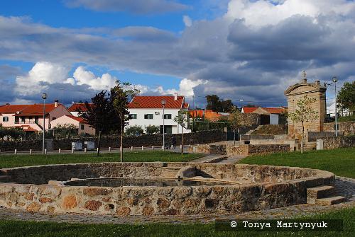 70 - провинция Португалии - маленькие города, посёлки, деревушки округа Каштелу Бранку