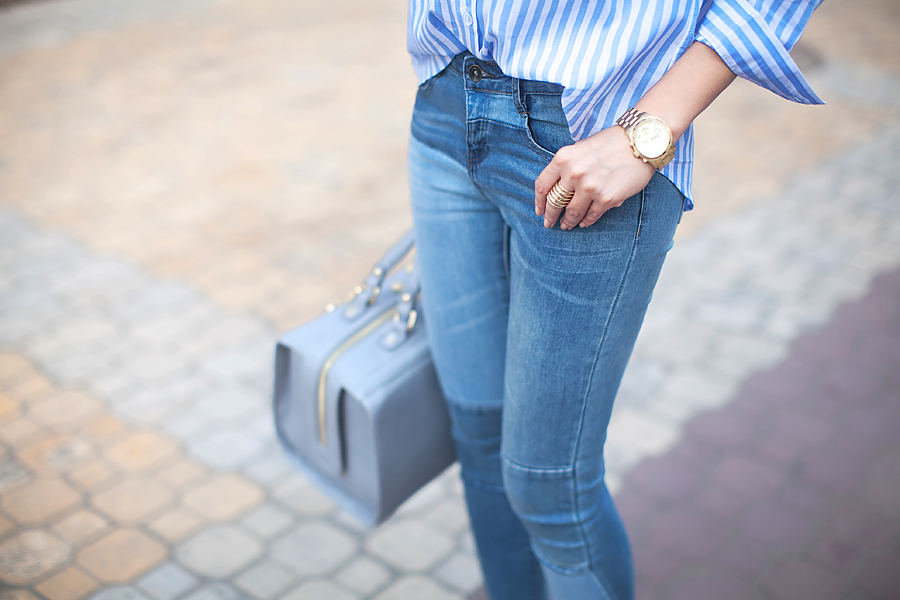 striped_shirt_patchwork_jeans_fashion_blogger_ukraine_nika_huk_personal_style