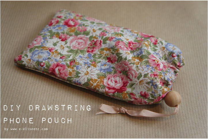 diy drawstring phone pouch 1