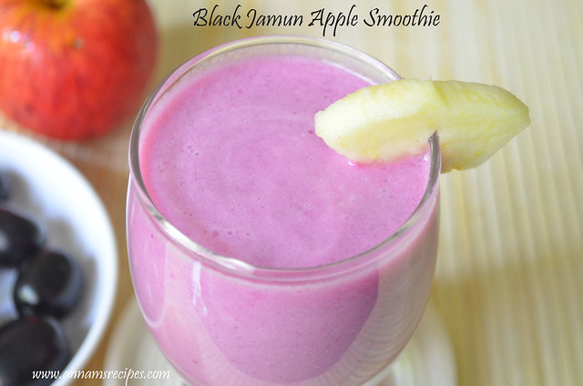 Black Jamun Smoothie