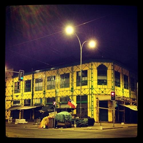 Mercado Cardonal #valparaíso #chile #night #lights #world