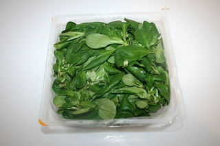 08 - Zutat Feldsalat / Ingredient lams's lettuce