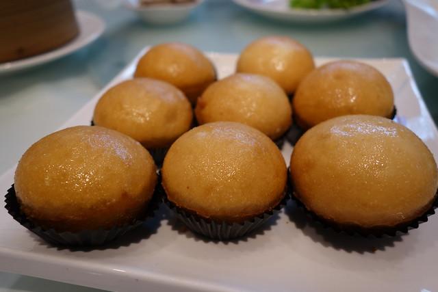 Deep-fried Custard Buns at Man Fu Yuan, InterContinental Singapore