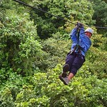 Conway_Heredia and Puntarenas_Summer09_Ziplining in Monteverde