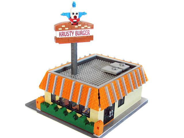 LEGO Springfield - The Krusty Burger