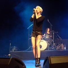 Demi Mondaine from Paris at Kulturbrauerei Berlin #rocknroll