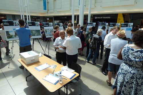 Lewisham Gateway consultation exhibition
