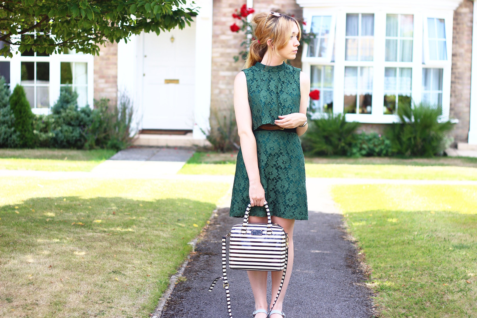 3topshopdress, floral, lace, summer, retro style