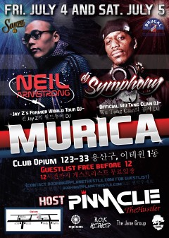 7/4 - Independence Day Korea Style at Club Opium Seoul