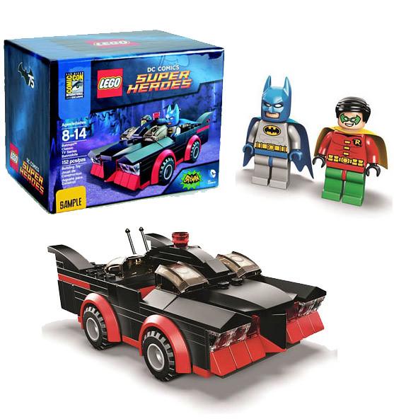 LEGO® SUPER HEROES 系列【經典影集版蝙蝠車】SDCC TV Series Batmobile