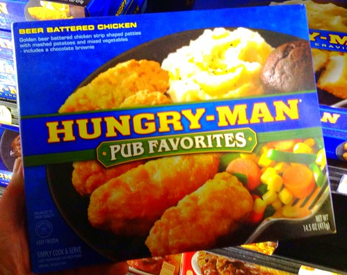 Hungry Man Frozen Dinners,