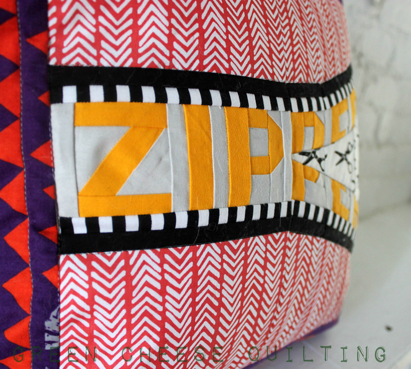 Zipper Pillow