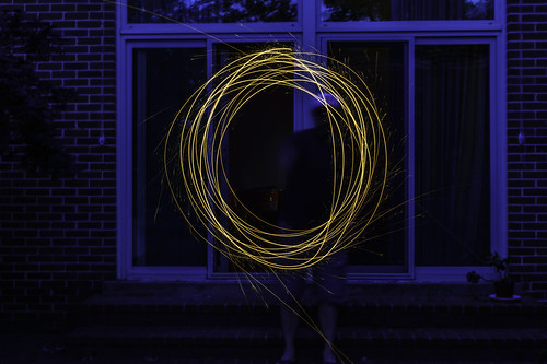 Ring of Fire (Self Portrait) by Geoff Livingston