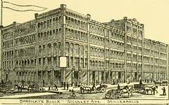 """Image from page 22 of """"City of Minneapolis. A review of her growing industries and commercial development, historical and descriptive .."""" (1889)"""