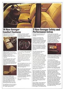 Chrysler Avenger 1980