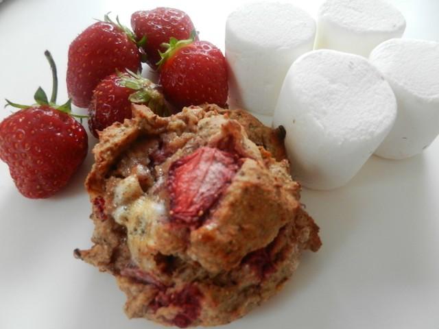 La Fraîchemallow (galette fraise et guimauve)