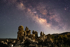 Milky Way from Mono Lake