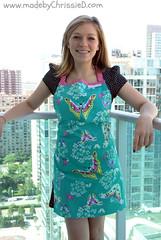 Amy Butler Reversible Apron