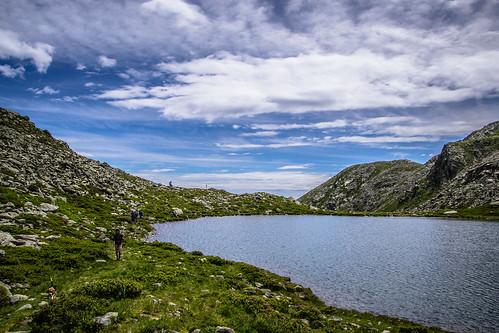lago sottano laghi della balma judo